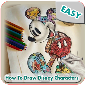 Download How To Draw Easy Disney Characters For PC Windows and Mac