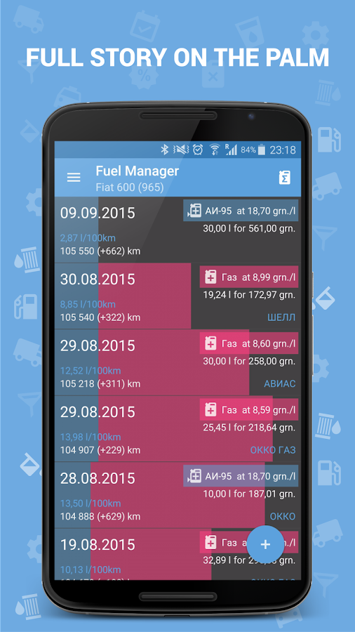 Fuel Manager (Consumption) Screenshot 1