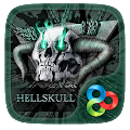 Download Hell Skull GO Launcher Theme APK for Android Kitkat