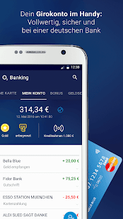 o2 Banking Screenshot
