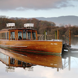 by Ian Younger - Transportation Boats ( derwentwater, lake, keswick, boat, lake district )