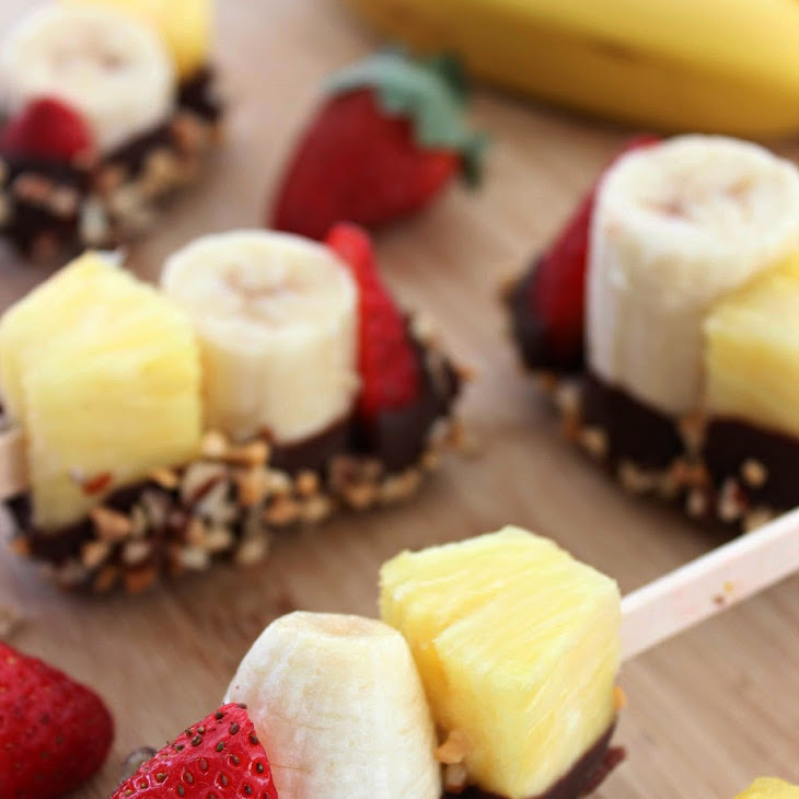 Banana Split Bites Recipe | Yummly