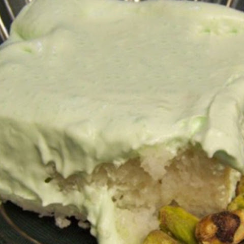 Pistachio Cake (Weight Watchers)