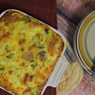 Easy Egg Bake Recipe with Bacon