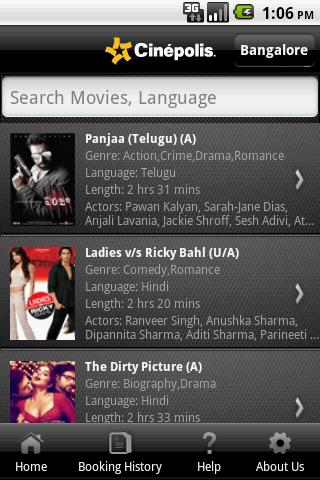 Cinepolis India screenshot 2