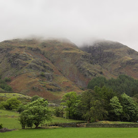Great Langdale Valley by Ethan Jacobs - Landscapes Mountains & Hills ( mountain, landscape, the lakes )