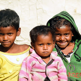 Three  by Asif Bora - Babies & Children Children Candids
