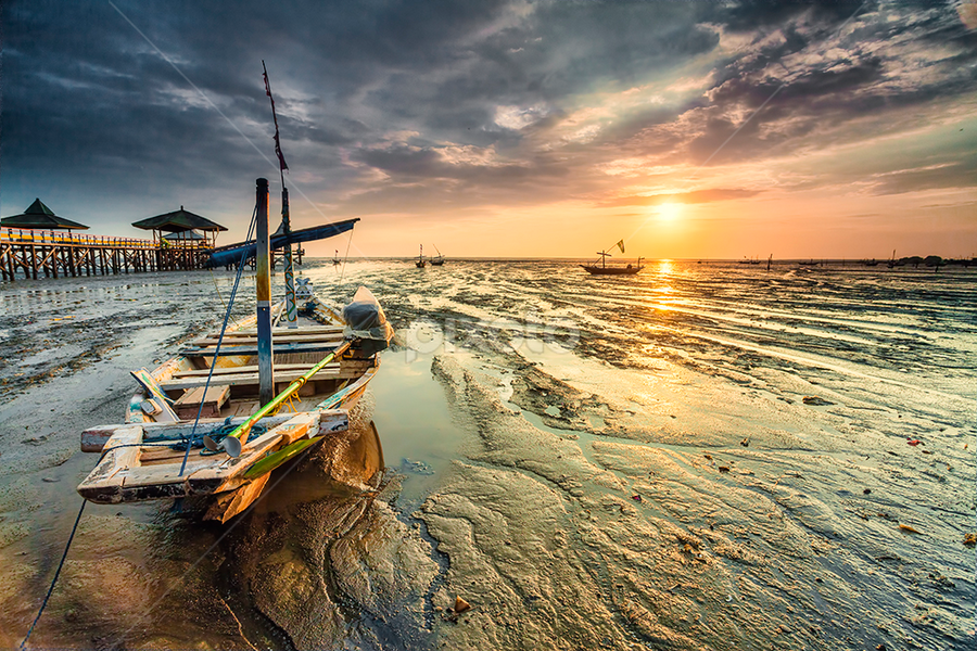 where's the water by Eko Sumartopo - Transportation Boats