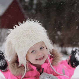 Winter Dalsland Sweden... by Johan Dubois - Babies & Children Toddlers