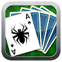 Spider Solitaire:   game