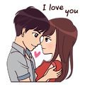 couple histoire autocollants packs - wastickerapps APK