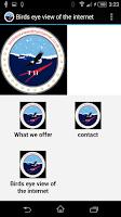 Screenshot of Birds eye view of the internet