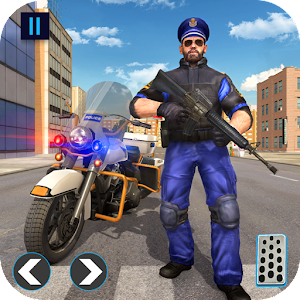 US Police Bike 2019 - Gangster Chase For PC / Windows 7/8/10 / Mac – Free Download