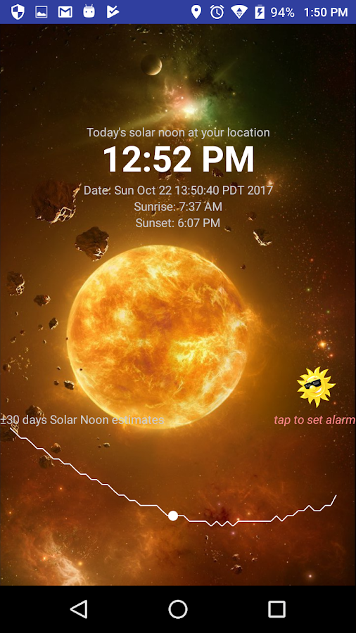 Solar Noon Screenshot 0