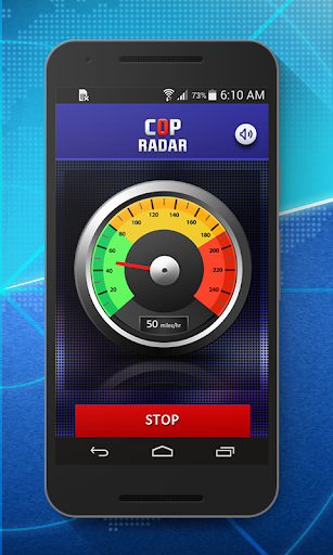 Cop Radar-Speed Detector - screenshot