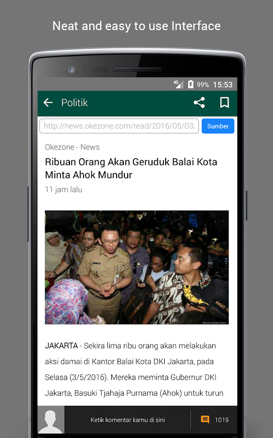 BaBe - Baca Berita Screenshot 1