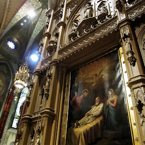 Saint Joseph's altar, Montreal, Quebec by Carl VanderWouden - Artistic Objects Other Objects