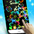 Neon Flowers Live Wallpaper APK for Bluestacks