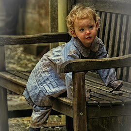 young Victorian 2 by H Osborne - Babies & Children Child Portraits