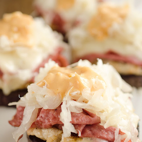 Light Reuben Turkey Burger Sliders