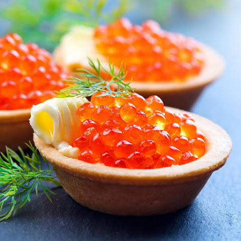 Red Caviar Tartlets