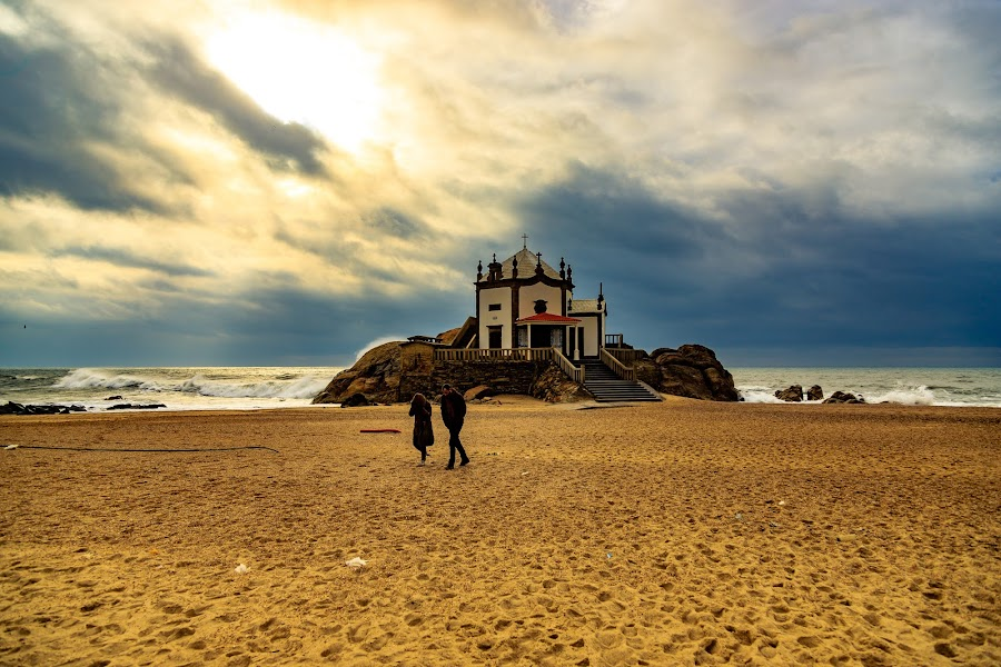 Lord of the Stone by Abílio Neves - Landscapes Beaches ( water, clouds, sand, beach, people )