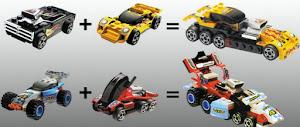 """Конструктор """"MotoBlock"""" Машинка - 3 в1 L"""