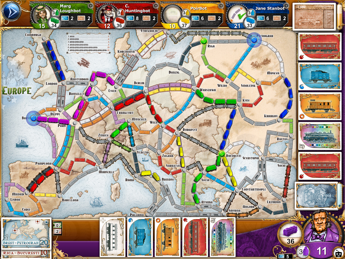 Ticket to Ride Screenshot 9