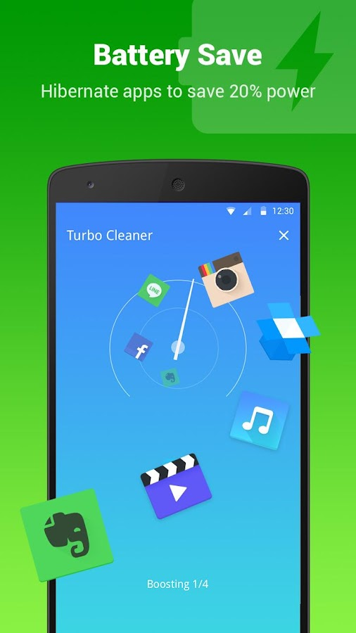 Turbo Cleaner - Boost, Clean Screenshot 3