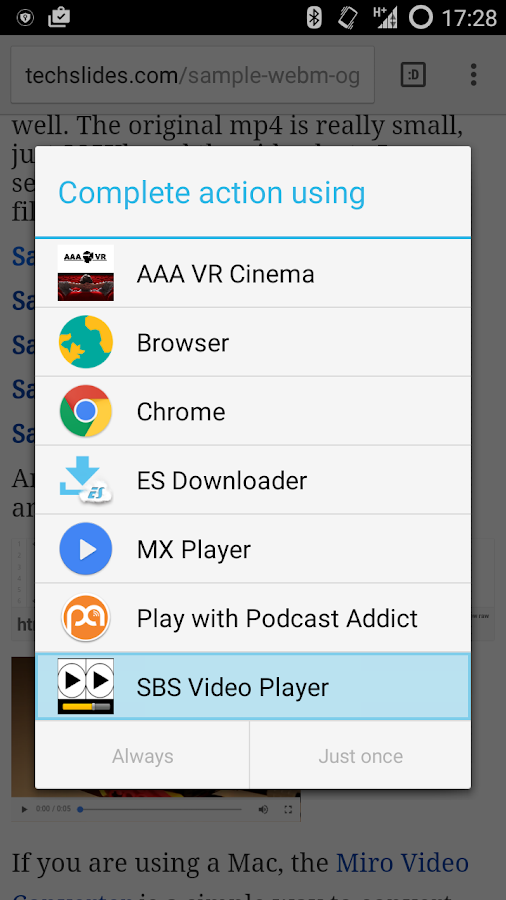 Side-By-Side Video Player Pro Screenshot