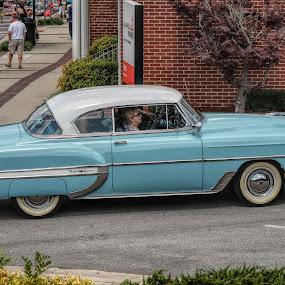 by Karen Carter Goforth - Transportation Automobiles ( classic car,  )