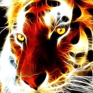 Tiger glows live wallpaper for PC-Windows 7,8,10 and Mac