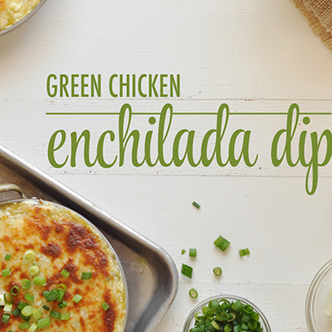 Green Chicken Enchilada Dip
