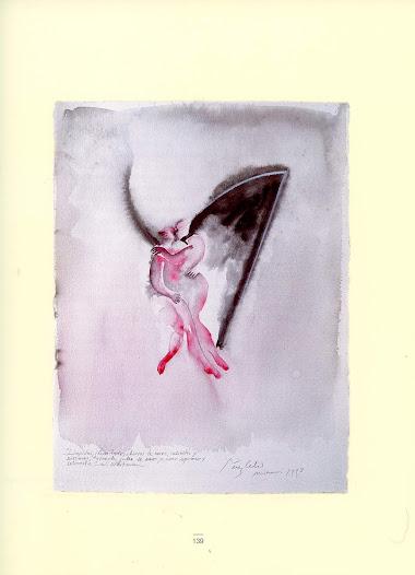 """"""" Limpidos """" Técnica mixta sobre papel 76 x 58 cm Miami 1998"""