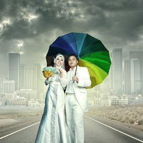 wedding day by Hafiz Othman - Digital Art People ( wedding, malay, manipulation )