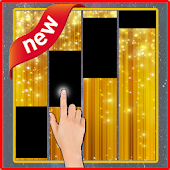 Tap The Piano Tiles gold Theme