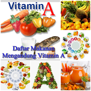 Sumber Makanan Vitamin A - screenshot