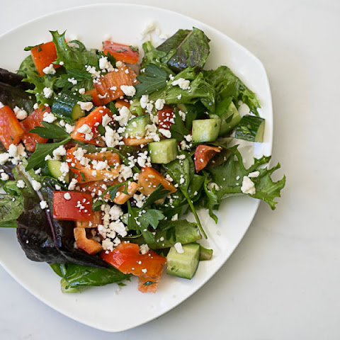 Greek Salad with Herbs