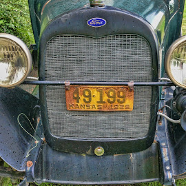 Old Ford by Gwen Paton - Transportation Automobiles ( car, vintage, automobile, 1929, ford )