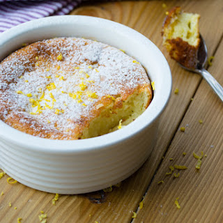 Microwaveable Lemon Cake