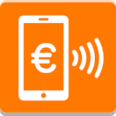 Orange Cash Icon