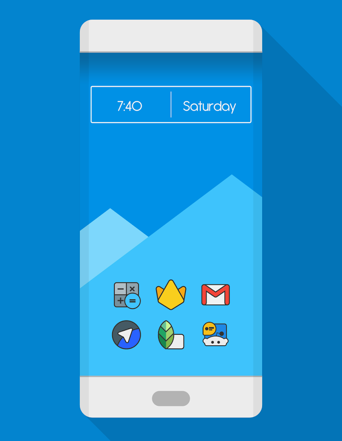 DARKMATTER - ICON PACK Screenshot 0