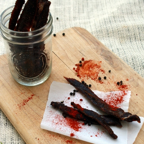 Spicy Sweet Mole Jerky