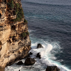 Uluwatu by Krisna Pillay - Landscapes Waterscapes