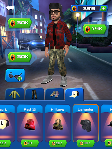 Black Star Runner - screenshot