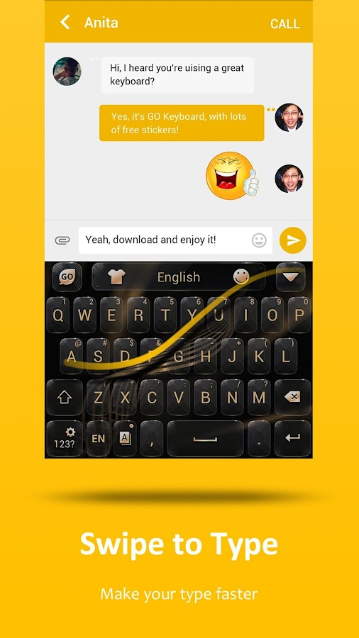 GO Keyboard - Emoji, Sticker Screenshot 5