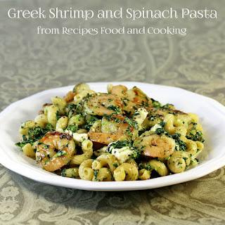 Feta Spinach Shrimp Pasta Recipes