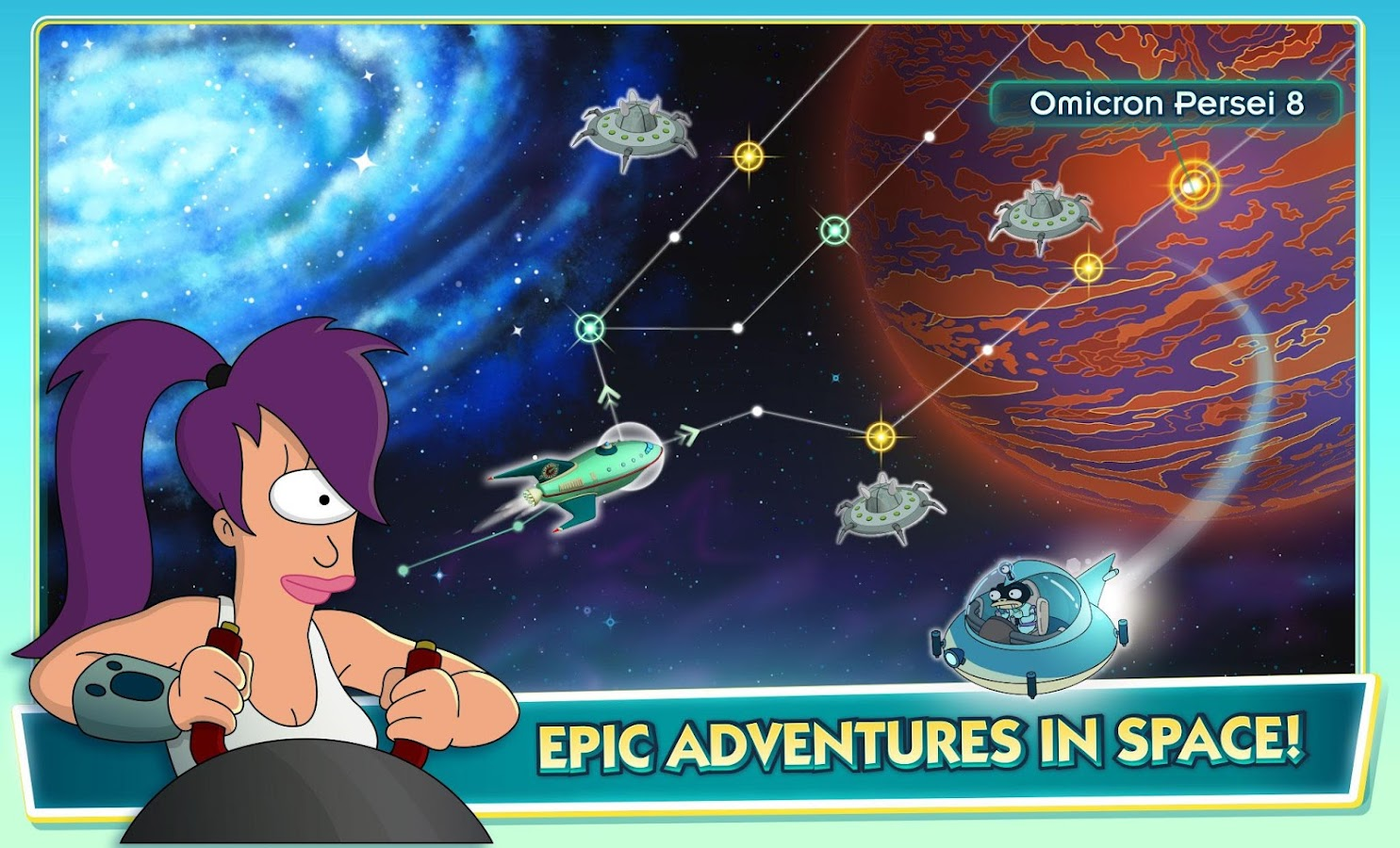 Futurama: Worlds of Tomorrow Screenshot 19