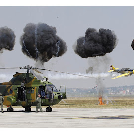by Leo Coste - Transportation Helicopters ( helicopter, romania, timisoara, leo coste,  )