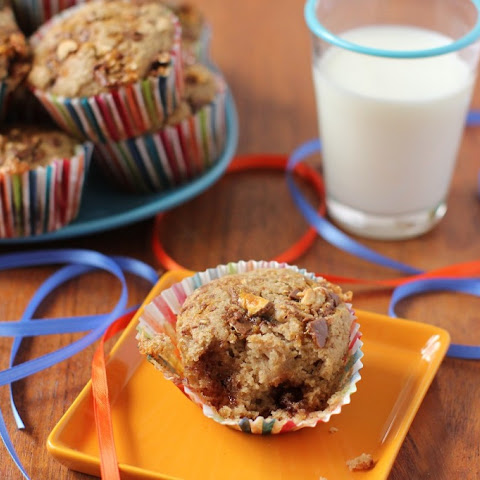 Candy Bar Muffins  (or Raid-the-Halloween-Loot-Bag Muffins)
